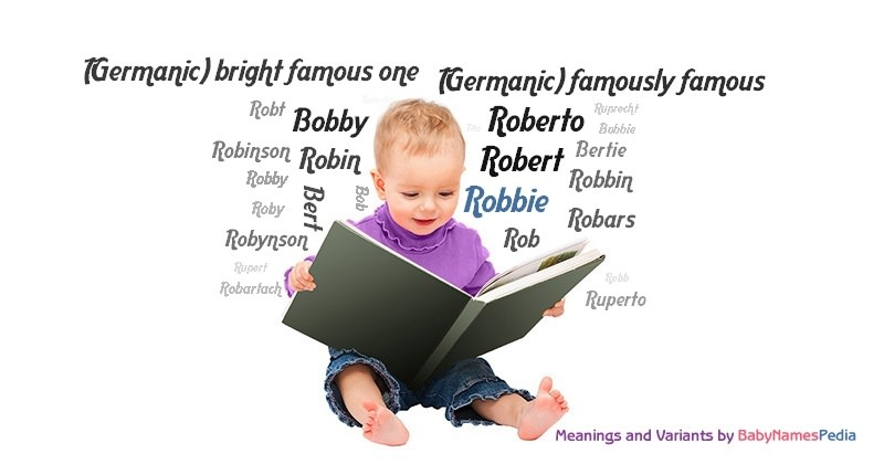 Meaning of the name Robbie