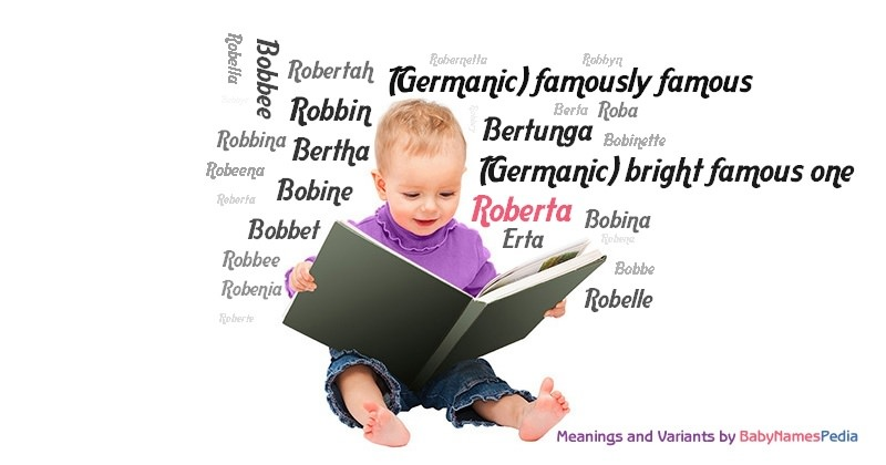 Meaning of the name Roberta