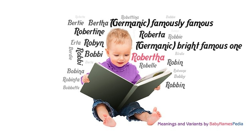 Meaning of the name Robertha