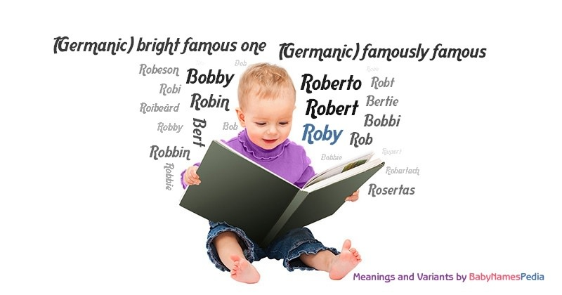 Meaning of the name Roby