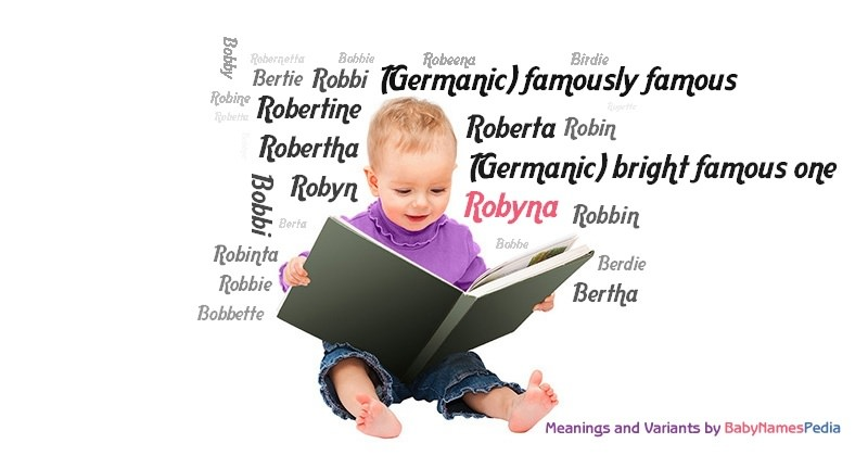 Meaning of the name Robyna
