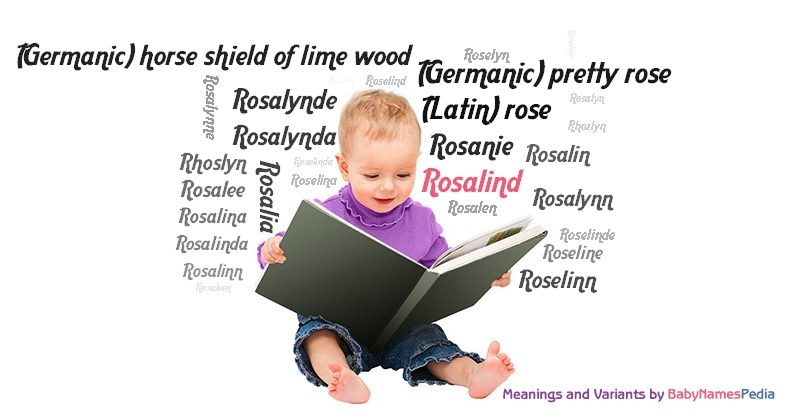 Meaning of the name Rosalind