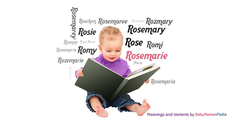 Meaning of the name Rosemarie