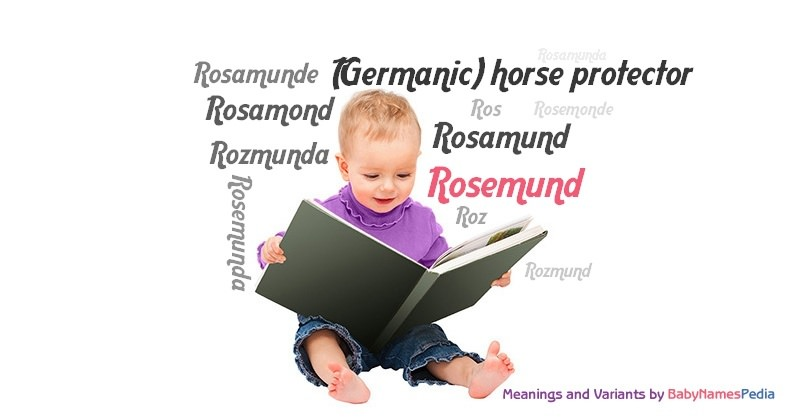 Meaning of the name Rosemund