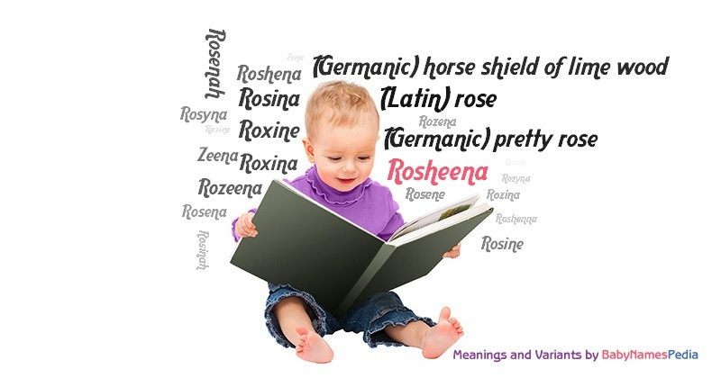 Meaning of the name Rosheena