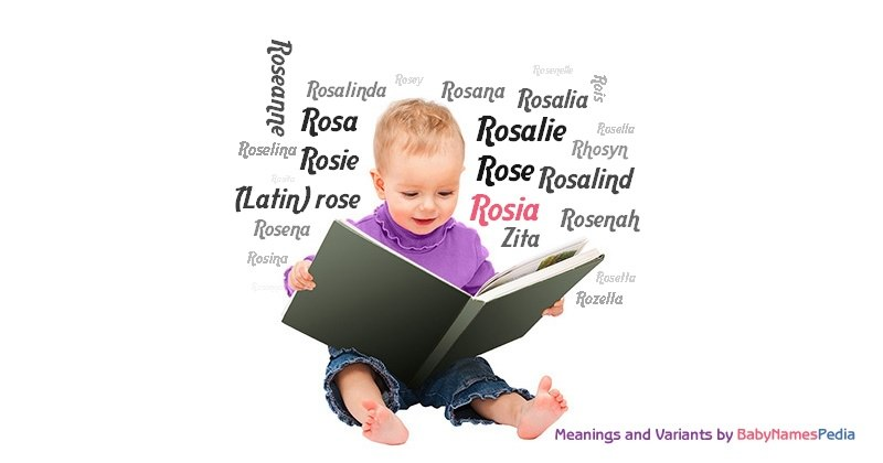 Meaning of the name Rosia