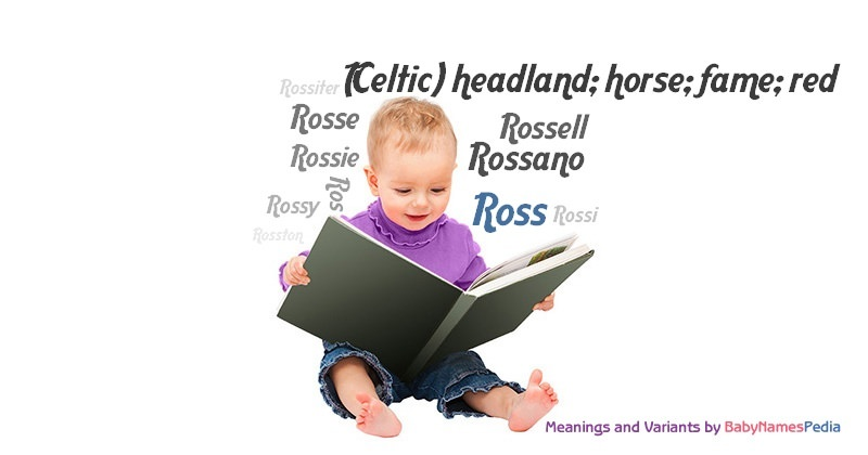 Meaning of the name Ross