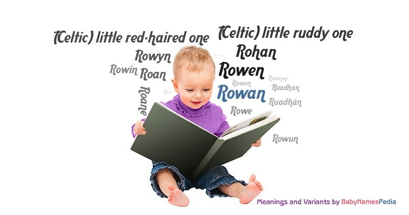 Meaning of the name Rowan