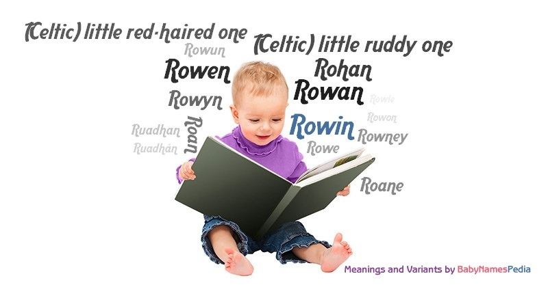 Meaning of the name Rowin