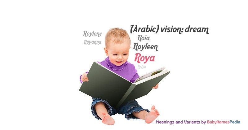 Meaning of the name Roya