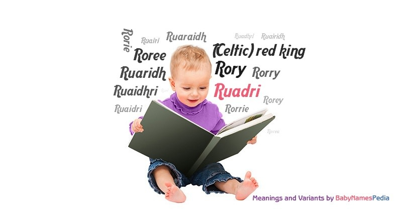Meaning of the name Ruadri