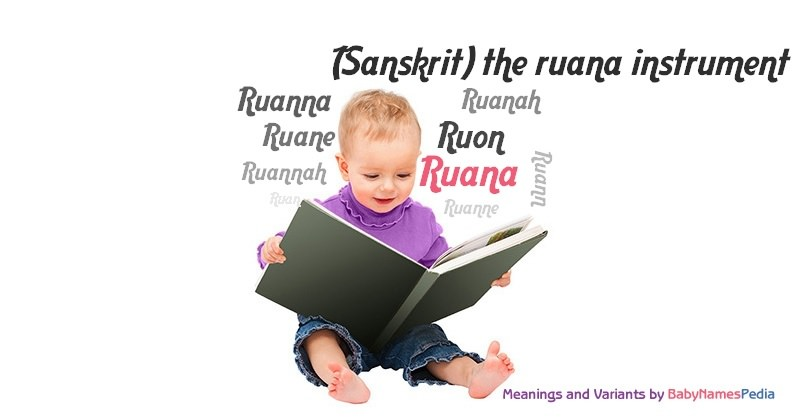 Meaning of the name Ruana