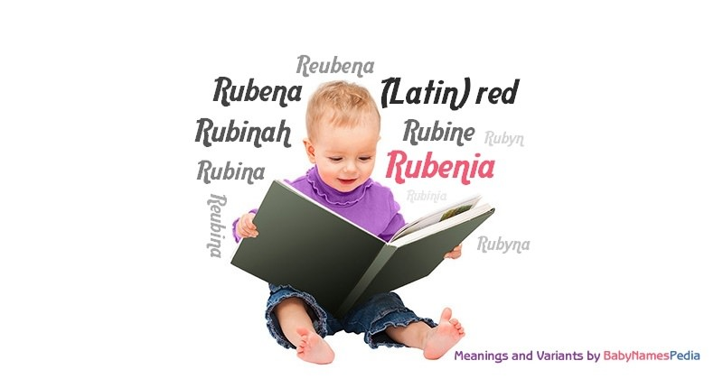Meaning of the name Rubenia