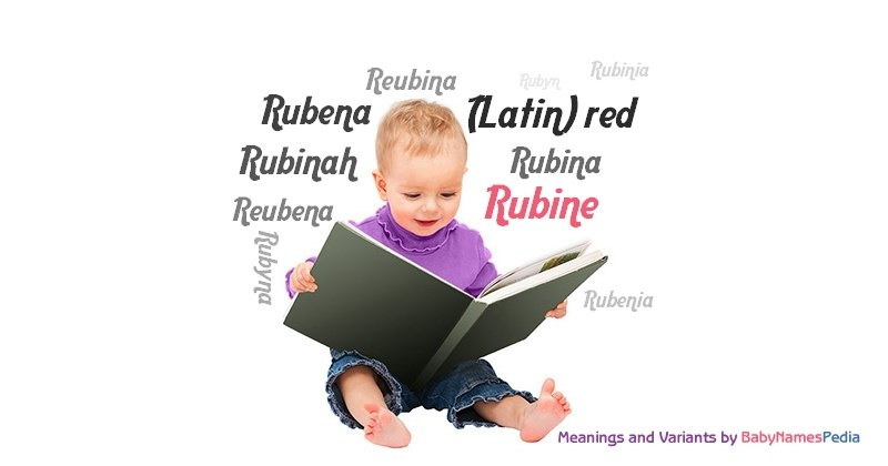Meaning of the name Rubine