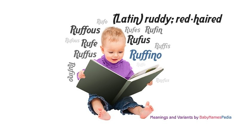 Meaning of the name Ruffino