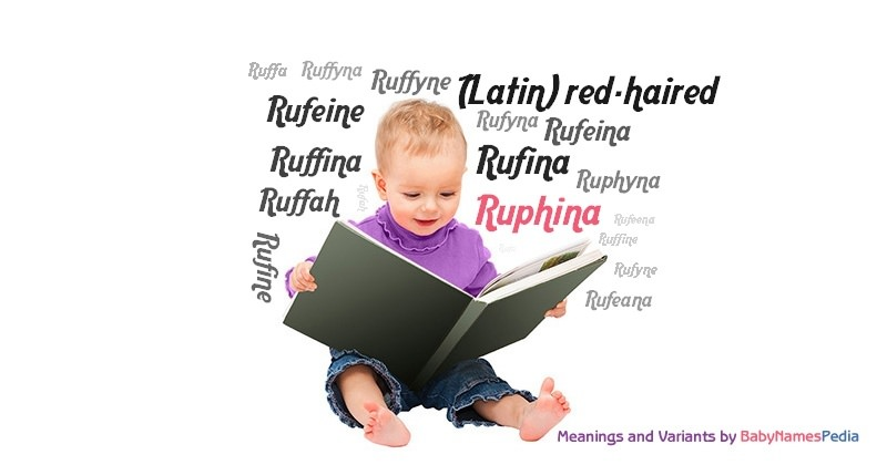 Meaning of the name Ruphina