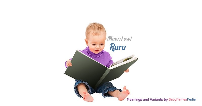 Meaning of the name Ruru