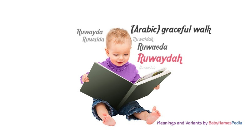 Meaning of the name Ruwaydah