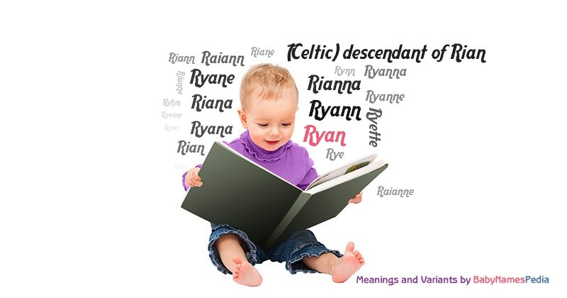 Ryan - Meaning of Ryan, What does Ryan mean? girl name