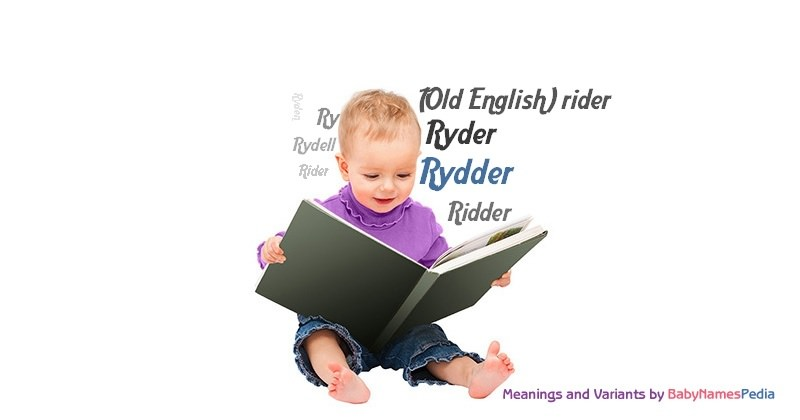 Meaning of the name Rydder