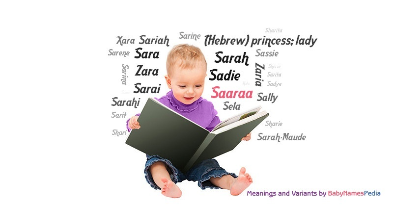 Meaning of the name Saaraa