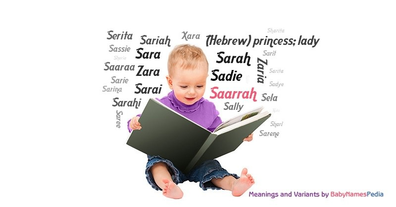 Meaning of the name Saarrah