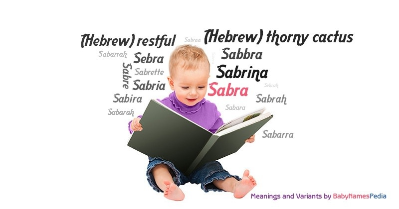 Meaning of the name Sabra