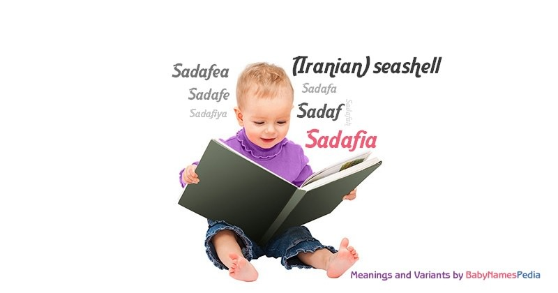 Meaning of the name Sadafia