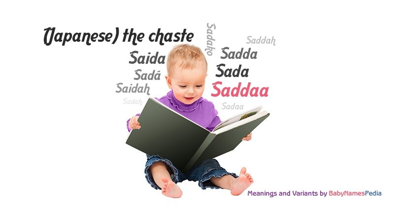 Meaning of the name Saddaa