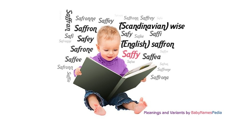 Meaning of the name Saffy
