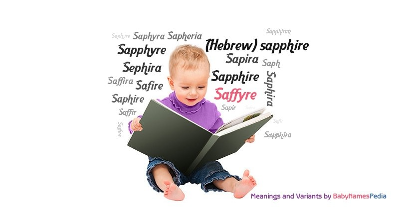 Meaning of the name Saffyre