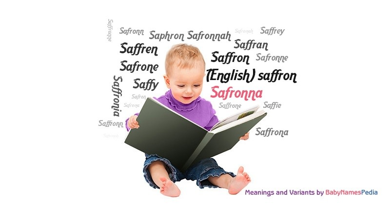 Meaning of the name Safronna