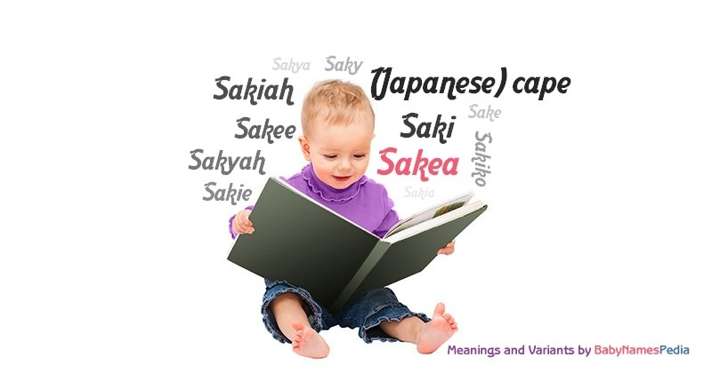 Meaning of the name Sakea