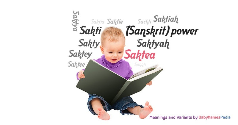 Meaning of the name Saktea