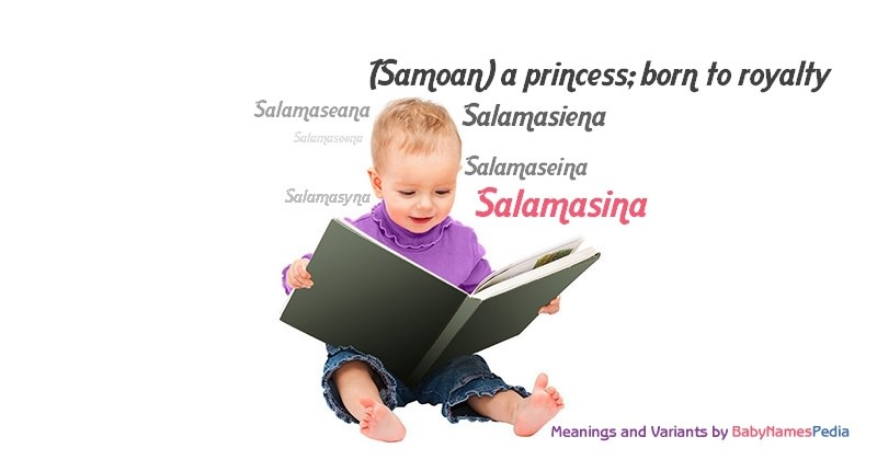Meaning of the name Salamasina