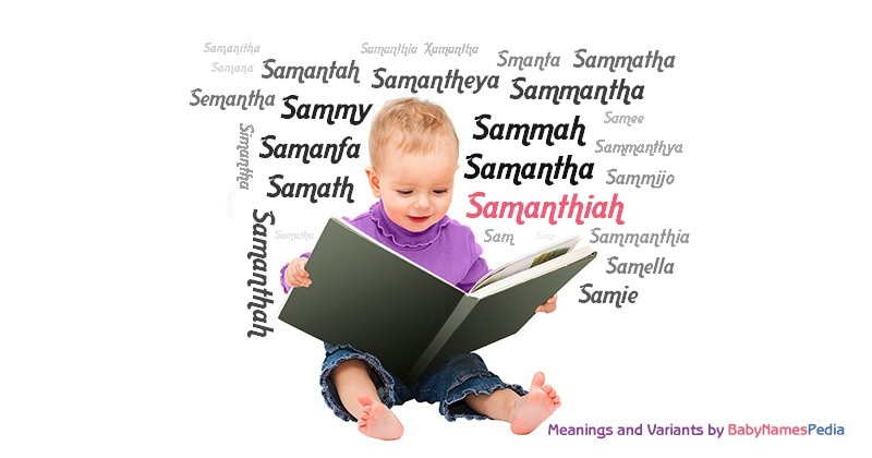 Meaning of the name Samanthiah