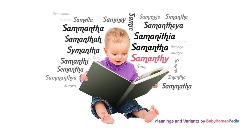 Meaning of the name Samanthy