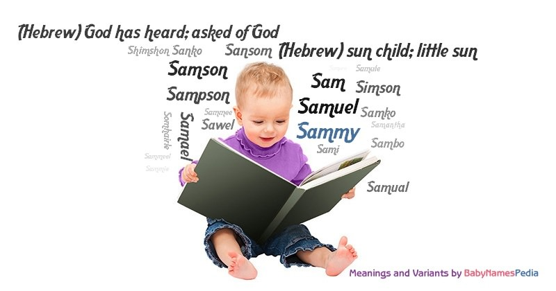 Meaning of the name Sammy
