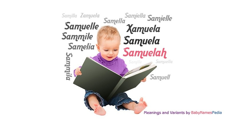 Meaning of the name Samuelah