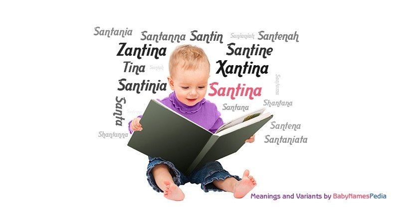 Meaning of the name Santina