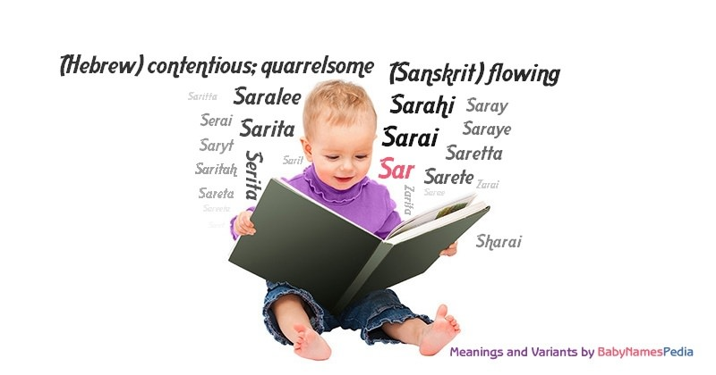 Meaning of the name Sar