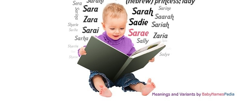 Meaning of the name Sarae