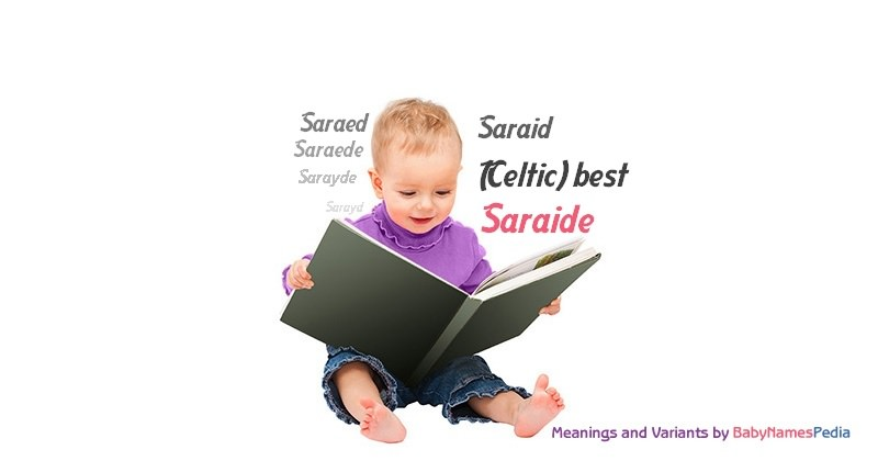 Meaning of the name Saraide