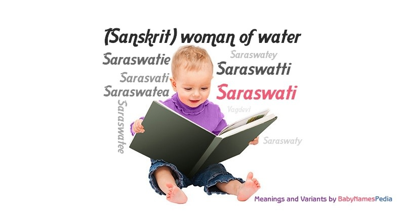 Meaning of the name Saraswati