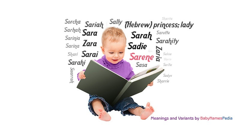Meaning of the name Sarene