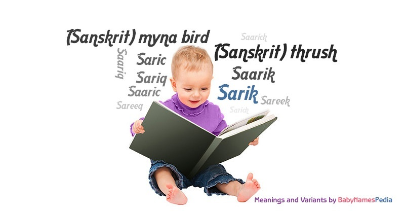 Meaning of the name Sarik