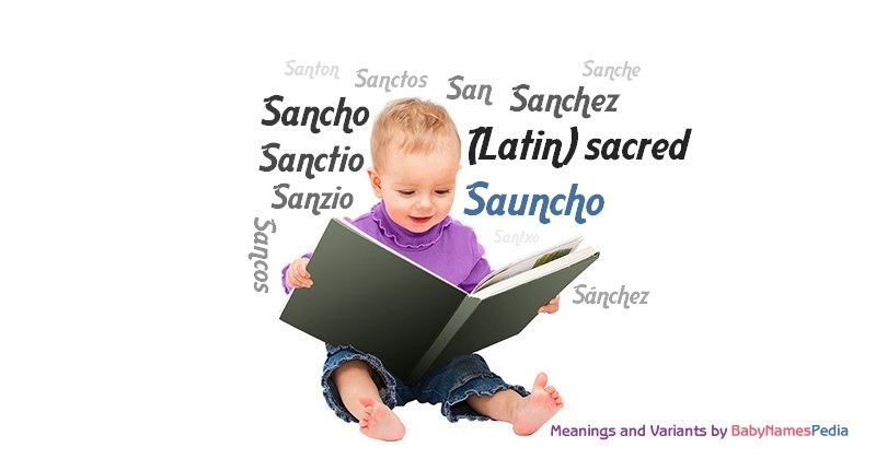 Meaning of the name Sauncho