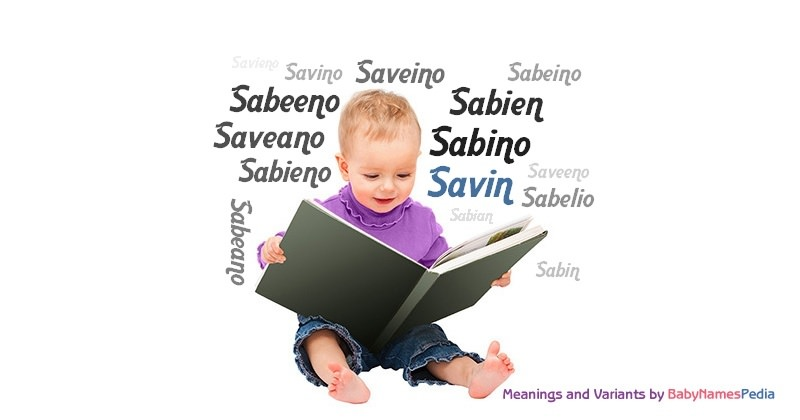 Meaning of the name Savin
