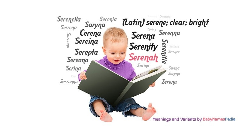 Meaning of the name Serenah