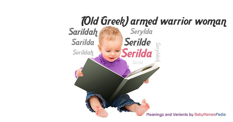 Meaning of the name Serilda